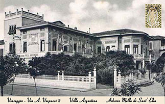 Picture of Villa Argentina in the sixties